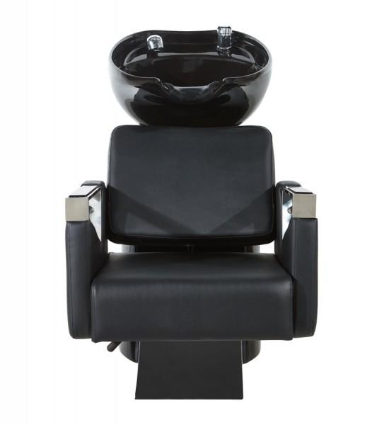 Friseur Waschbecken Taddeo W2990 mit beweglicher Sitzfläche