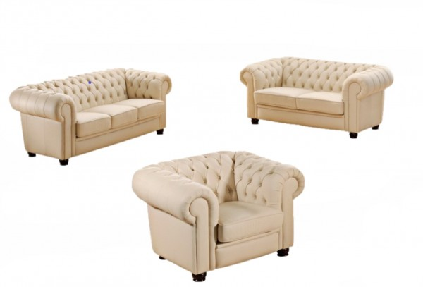Chesterfield Sofa Set C2001